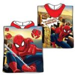 Spiderman Mini Poncho Towel Red